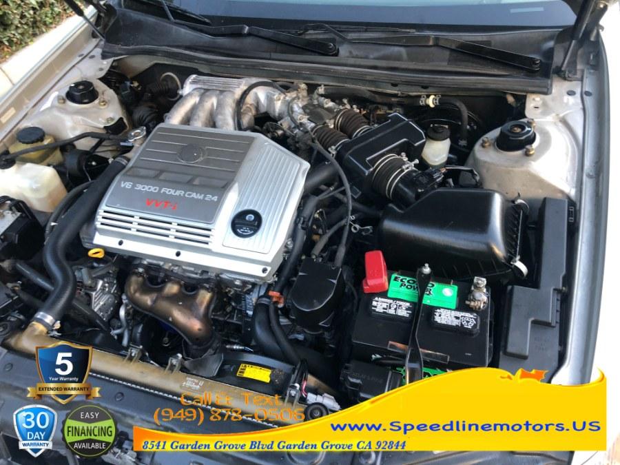 Used Lexus ES 300 4dr Sdn 2001 | Speedline Motors. Garden Grove, California