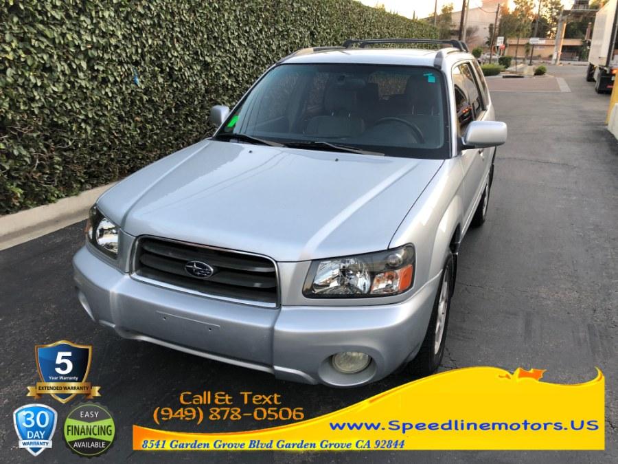 Used 2003 Subaru Forester in Garden Grove, California | Speedline Motors. Garden Grove, California