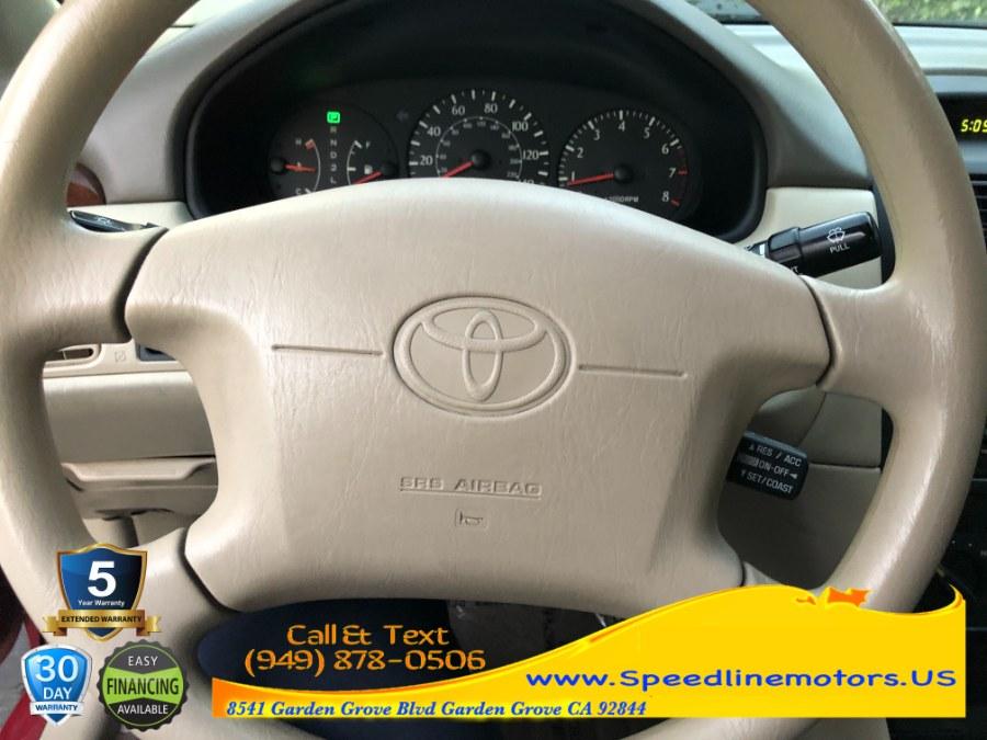 Used Toyota Camry Solara 2dr Cpe SE Auto 2000 | Speedline Motors. Garden Grove, California