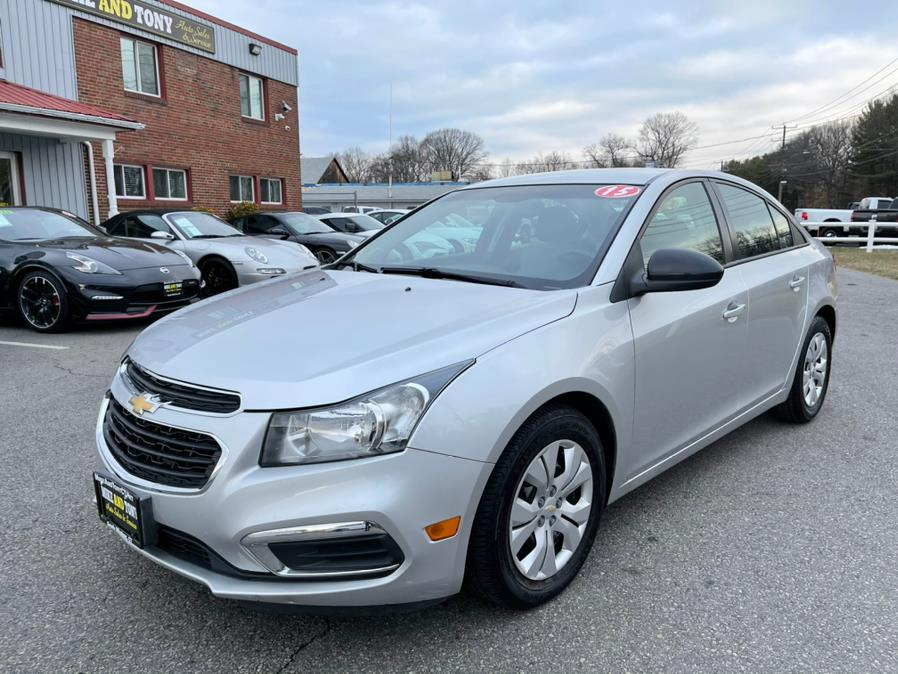 Used 2015 Chevrolet Cruze in South Windsor, Connecticut   Mike And Tony Auto Sales, Inc. South Windsor, Connecticut