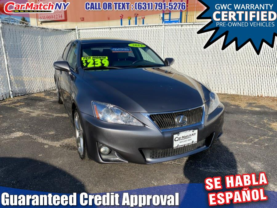 Used 2012 Lexus IS 250 in Bayshore, New York | Carmatch NY. Bayshore, New York