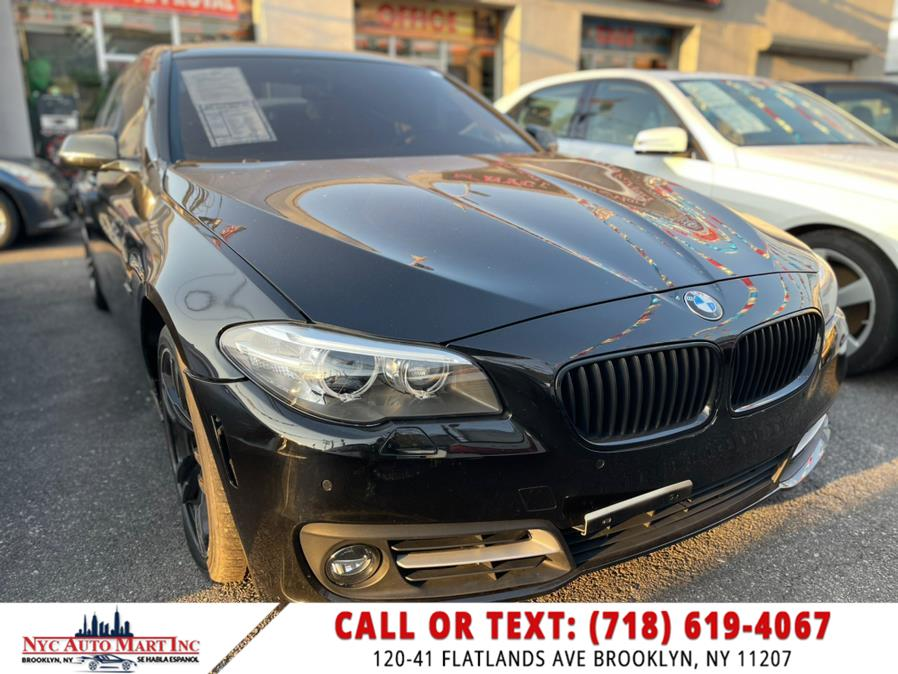 Used 2016 BMW 5 Series in Brooklyn, New York | NYC Automart Inc. Brooklyn, New York