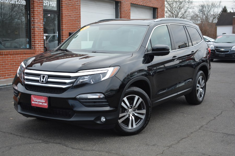 Used Honda Pilot EX-L AWD 2017 | Longmeadow Motor Cars. ENFIELD, Connecticut