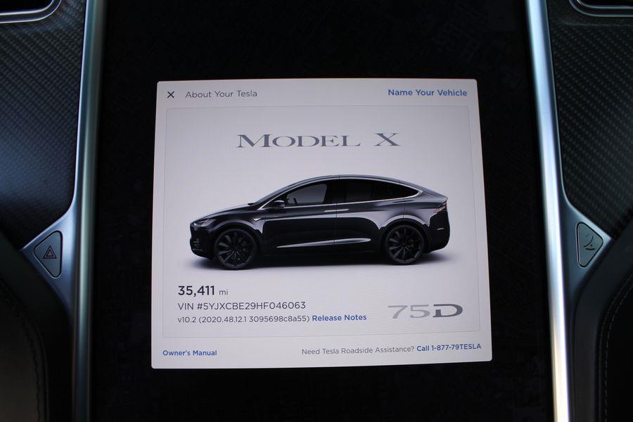 Used Tesla Model x 75D Sport Utility 4D 2017   Ideal Motors. Costa Mesa, California