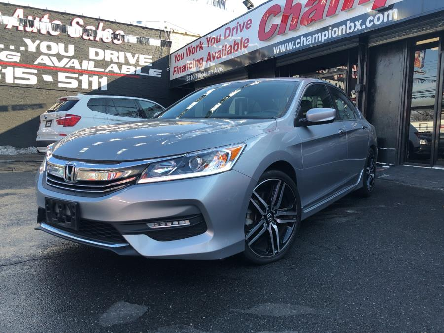 Used 2016 Honda Accord Sedan in Bronx, New York | Champion Auto Sales Of The Bronx. Bronx, New York
