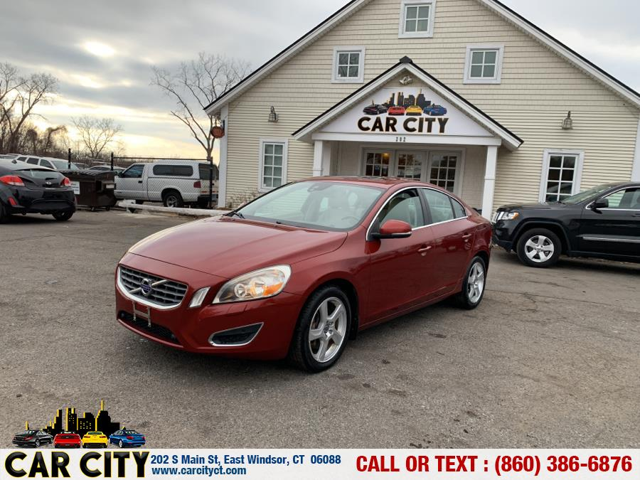 2012 Volvo S60 FWD 4dr Sdn T5 w/Moonroof, available for sale in East Windsor, CT