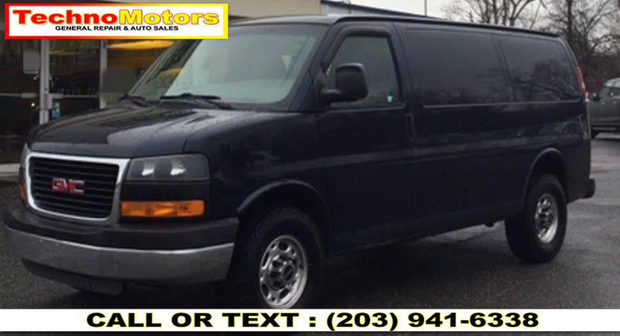 Used 2010 GMC Savana Cargo Van in Danbury , Connecticut | Techno Motors . Danbury , Connecticut