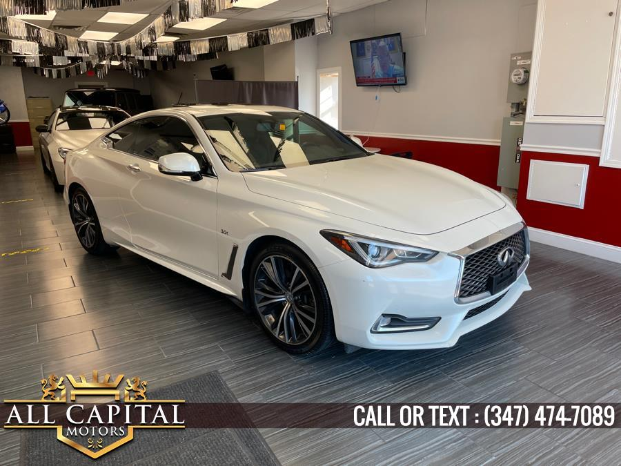 Used 2017 INFINITI Q60 in Brooklyn, New York | All Capital Motors. Brooklyn, New York