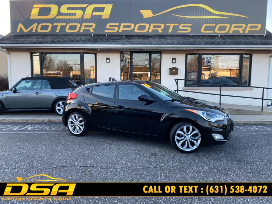 Used Hyundai Veloster 3dr Cpe Auto w/Black Int 2013 | DSA Motor Sports Corp. Commack, New York