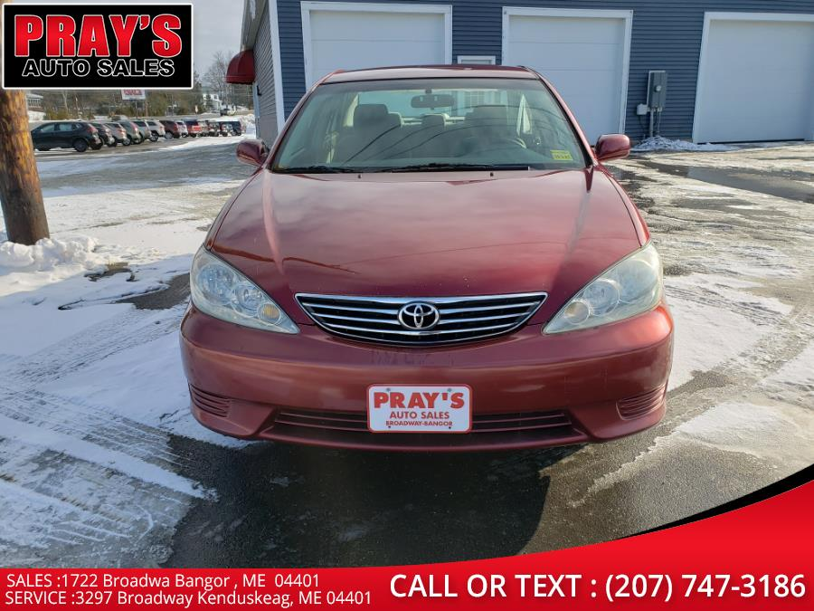 Used Toyota Camry 4dr Sdn LE Auto (Natl) 2005 | Pray's Auto Sales . Bangor , Maine