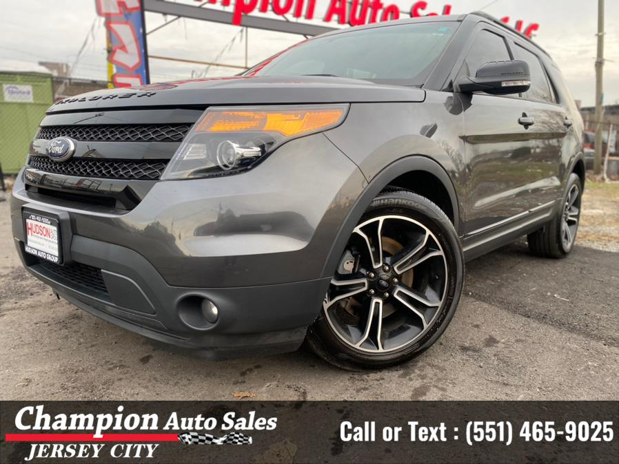 Used Ford Explorer 4WD 4dr Sport 2015   Champion Auto Sales of JC. Jersey City, New Jersey