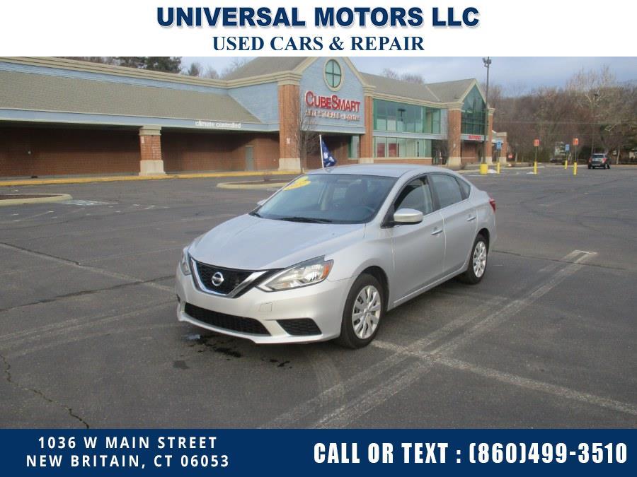 Used Nissan Sentra SR CVT 2017 | Universal Motors LLC. New Britain, Connecticut