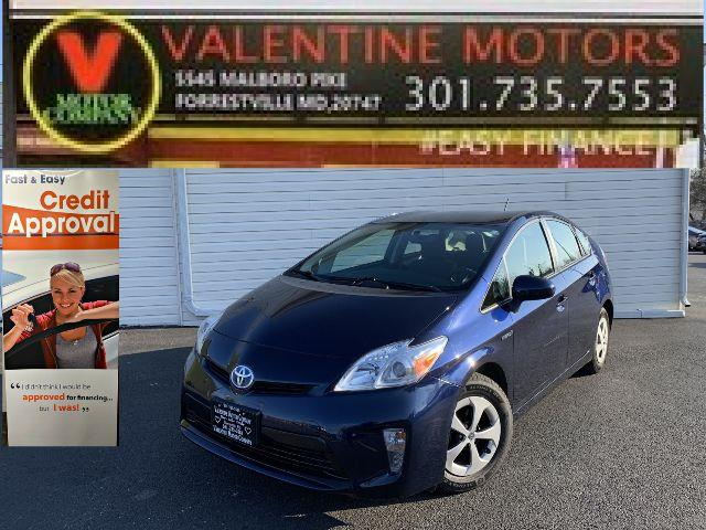 Used Toyota Prius Two 2013 | Valentine Motor Company. Forestville, Maryland