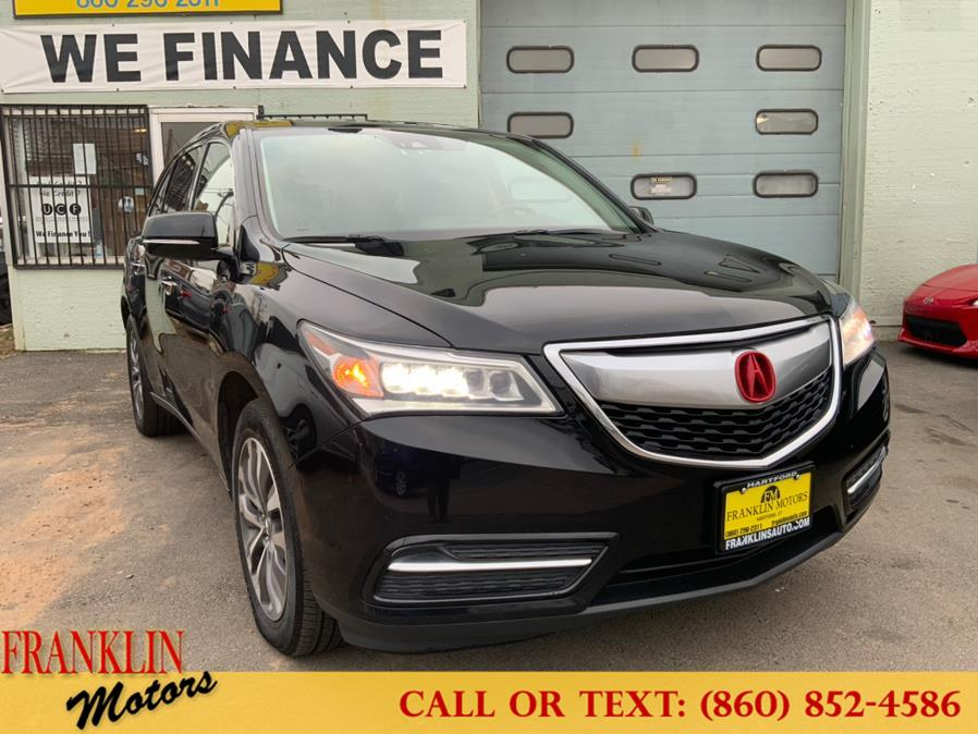 Used 2016 Acura MDX in Hartford, Connecticut | Franklin Motors Auto Sales LLC. Hartford, Connecticut