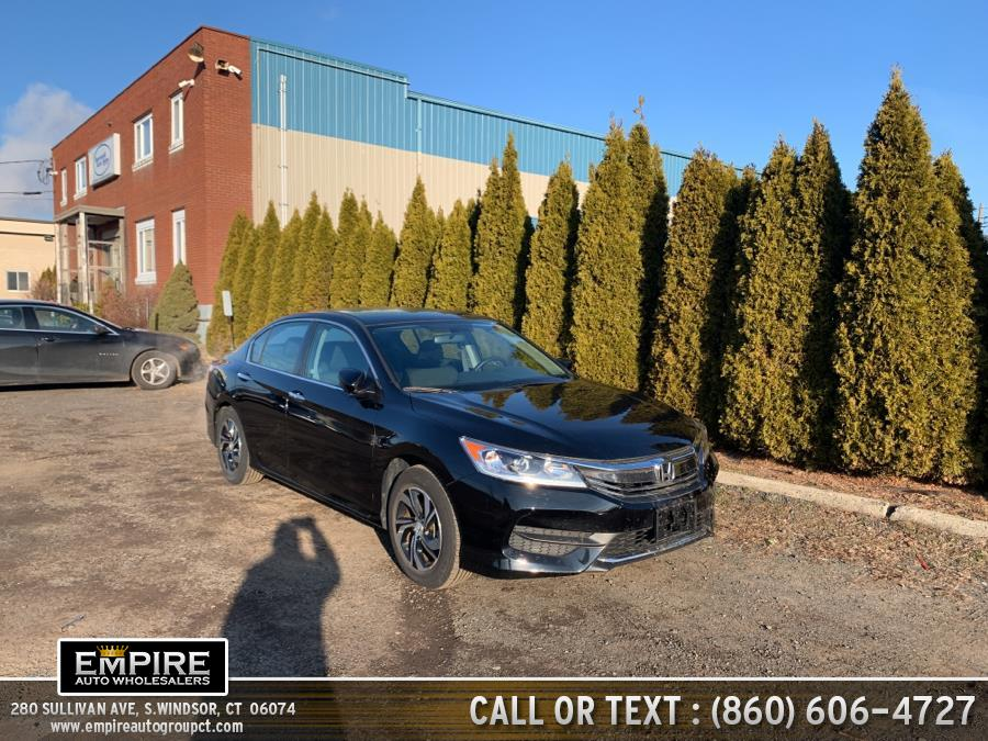 Used Honda Accord Sedan LX CVT 2017 | Empire Auto Wholesalers. S.Windsor, Connecticut