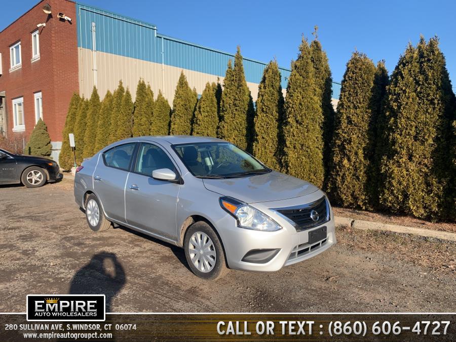 Used Nissan Versa Sedan SV CVT 2019 | Empire Auto Wholesalers. S.Windsor, Connecticut