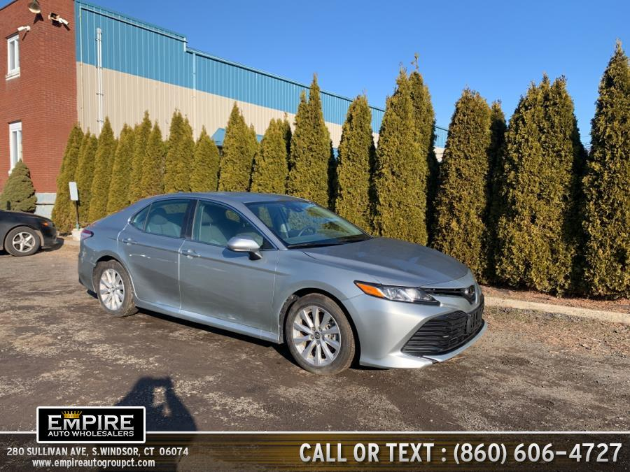 Used Toyota Camry LE Auto (Natl) 2019 | Empire Auto Wholesalers. S.Windsor, Connecticut
