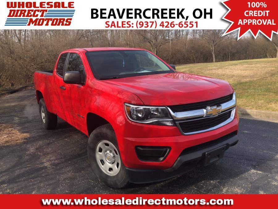 "Used Chevrolet Colorado 2WD Ext Cab 128.3"" WT 2017 | Wholesale Direct Motors. Beavercreek, Ohio"