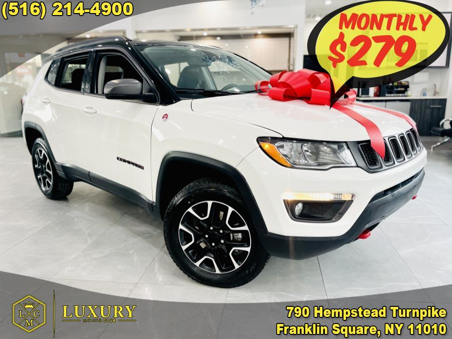 Used 2020 Jeep Compass in Franklin Square, New York | Luxury Motor Club. Franklin Square, New York