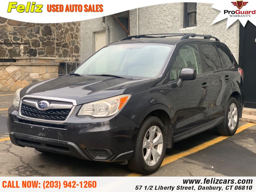 Used 2014 Subaru Forester in Danbury, Connecticut | Feliz Used Auto Sales. Danbury, Connecticut