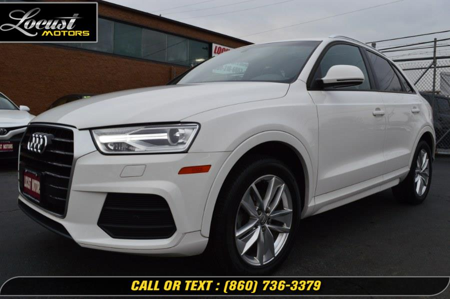 Used 2017 Audi Q3 in Hartford, Connecticut | Locust Motors LLC. Hartford, Connecticut