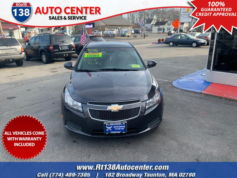 Used 2014 Chevrolet Cruze in Taunton, Massachusetts | Rt 138 Auto Center Inc . Taunton, Massachusetts