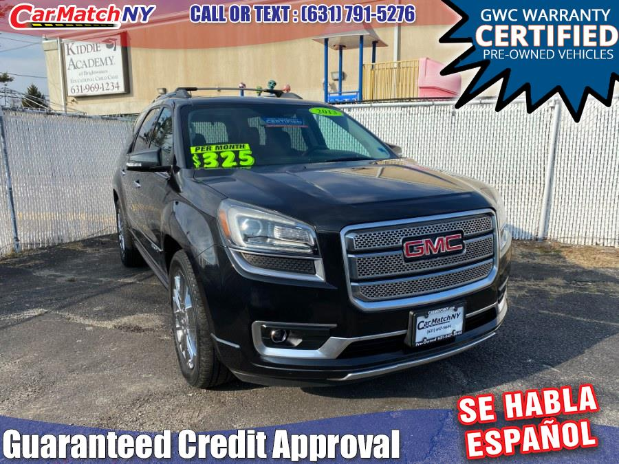 Used 2013 GMC Acadia in Bayshore, New York | Carmatch NY. Bayshore, New York