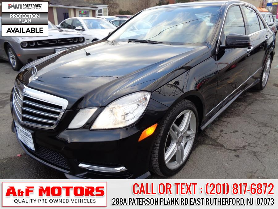 Used Mercedes-Benz E-Class 4dr Sdn E350 Sport RWD *Ltd Avail* 2013 | A&F Motors LLC. East Rutherford, New Jersey