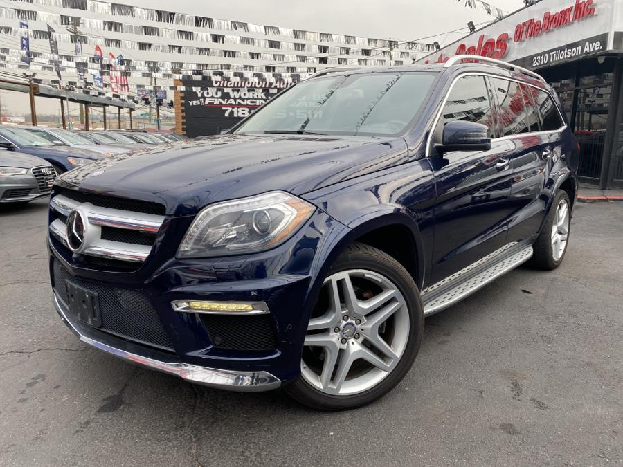 2013 Mercedes-Benz GL-Class 4MATIC 4dr GL 550, available for sale in Bronx, NY