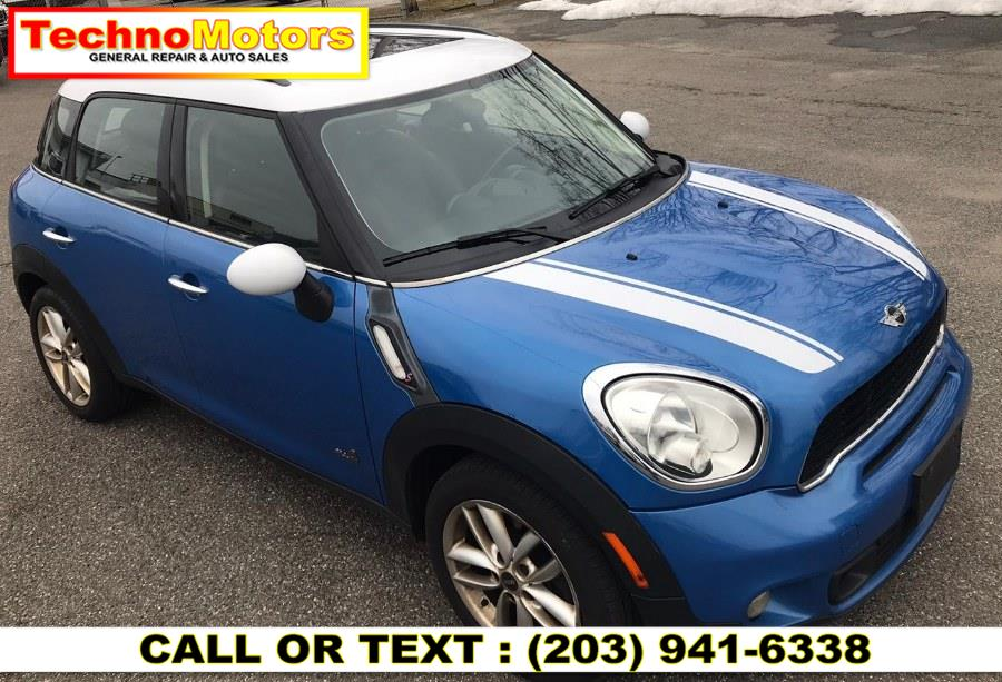 Used 2011 MINI Cooper Countryman in Danbury , Connecticut | Techno Motors . Danbury , Connecticut