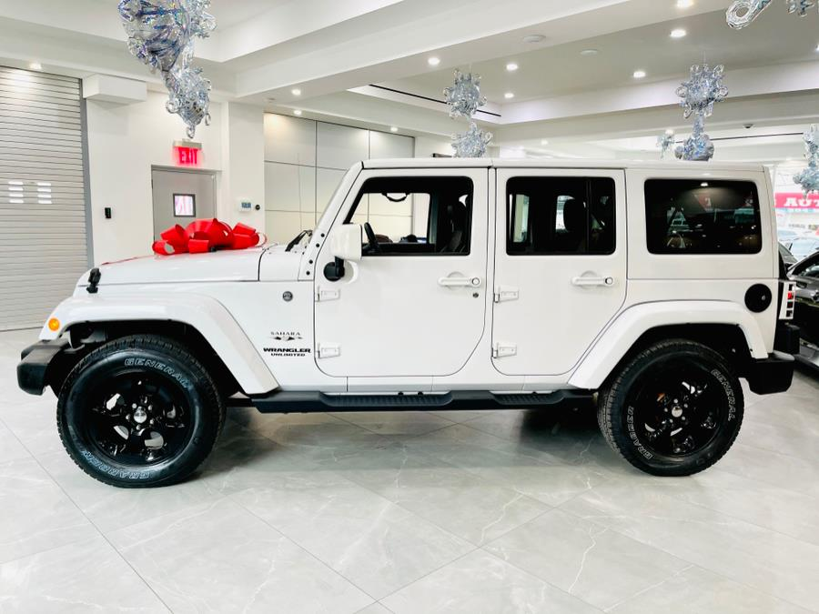 Used Jeep Wrangler Unlimited Sahara 4x4 2017 | C Rich Cars. Franklin Square, New York