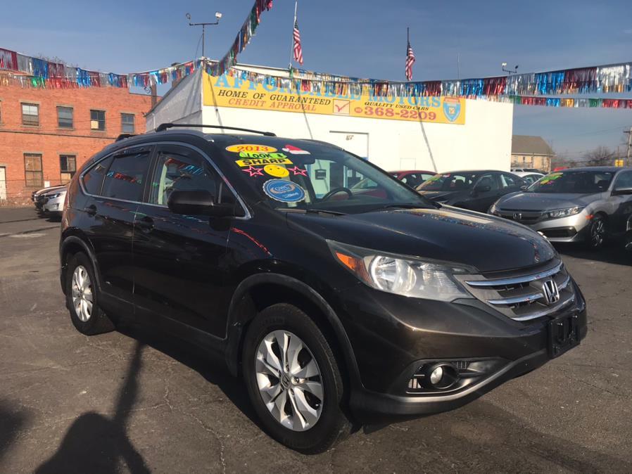 Used Honda CR-V EX-L 4D SUV AWD 2013 | Affordable Motors Inc. Bridgeport, Connecticut