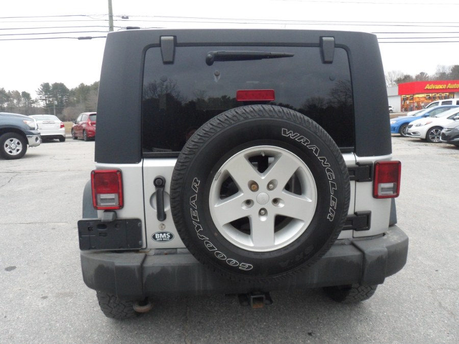Used Jeep Wrangler Unlimited 4WD 4dr X 2009 | Brooklyn Motor Sports Inc. Brooklyn, Connecticut