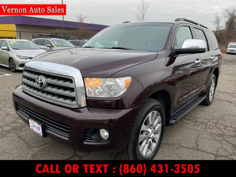 Used Toyota Sequoia 4WD 5.7L Limited (Natl) 2016 | Vernon Auto Sale & Service. Manchester, Connecticut