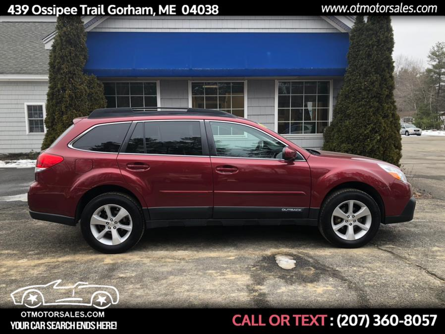 Used 2014 Subaru Outback in Gorham, Maine | Ossipee Trail Motor Sales. Gorham, Maine