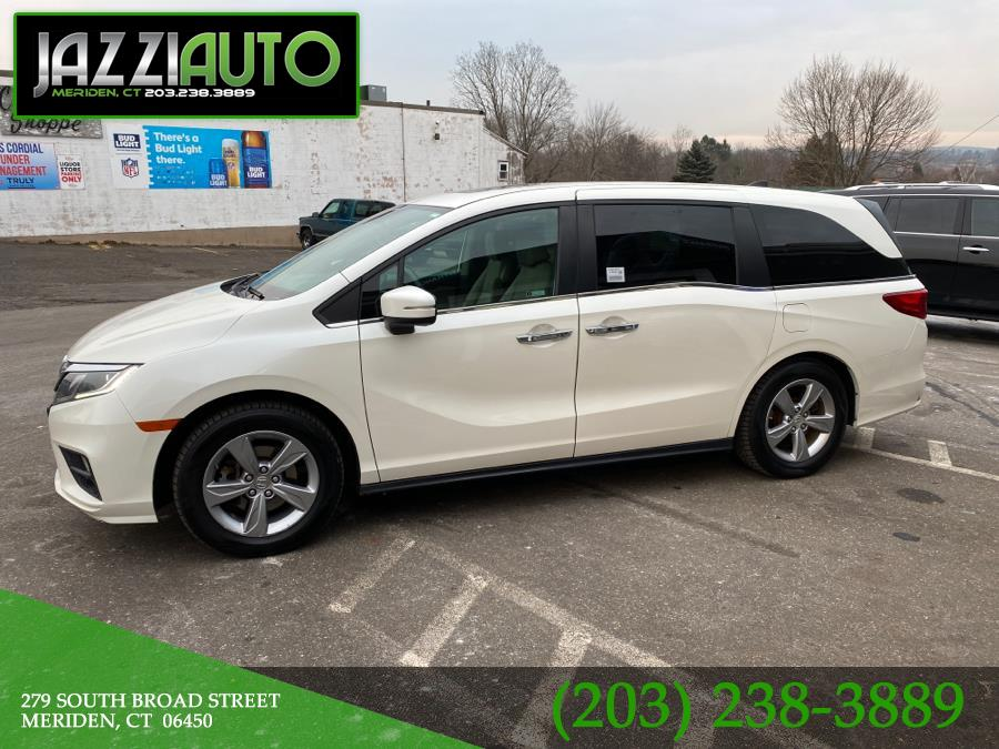 Used 2018 Honda Odyssey in Meriden, Connecticut | Jazzi Auto Sales LLC. Meriden, Connecticut
