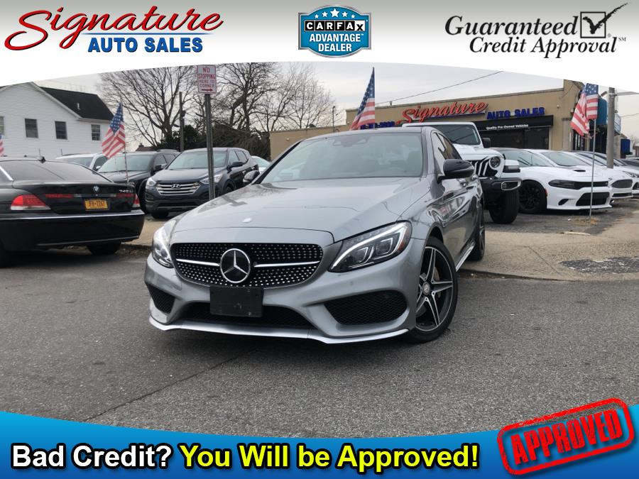 Used 2016 Mercedes-Benz C-Class in Franklin Square, New York | Signature Auto Sales. Franklin Square, New York