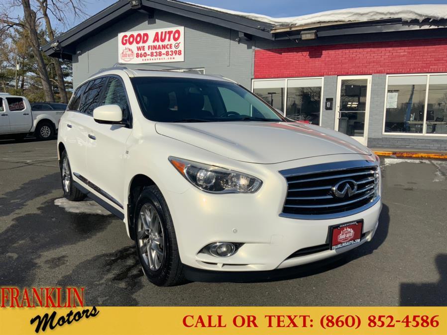Used 2014 Infiniti QX60 in Hartford, Connecticut | Franklin Motors Auto Sales LLC. Hartford, Connecticut