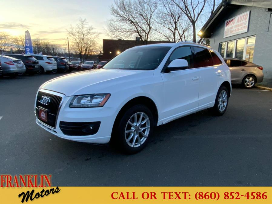 Used 2010 Audi Q5 in Hartford, Connecticut | Franklin Motors Auto Sales LLC. Hartford, Connecticut