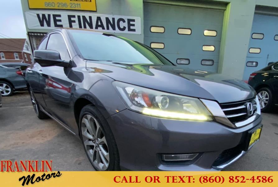 Used 2013 Honda Accord Sdn in Hartford, Connecticut | Franklin Motors Auto Sales LLC. Hartford, Connecticut