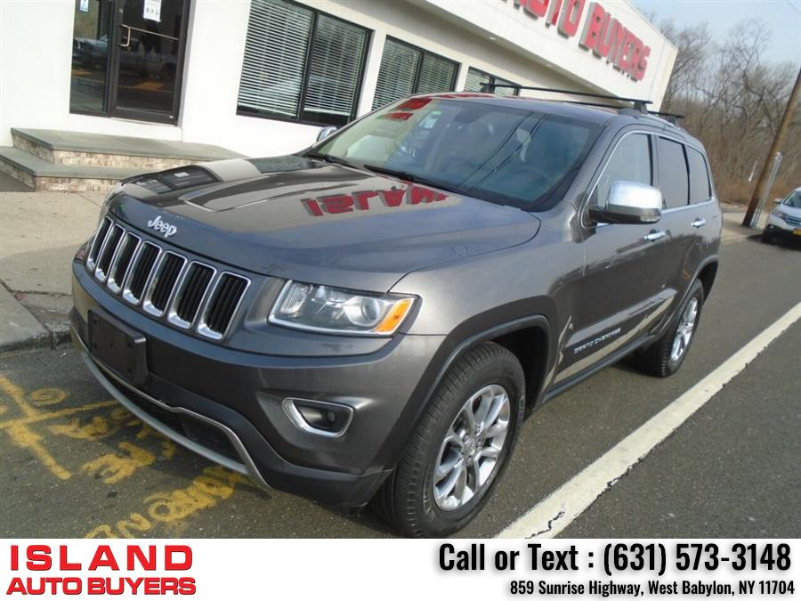 Used Jeep Grand Cherokee Limited 4x4 4dr SUV 2015 | Island Auto Buyers. West Babylon, New York
