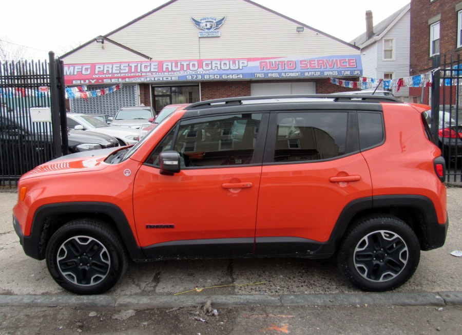 Used Jeep Renegade 4WD 4dr Trailhawk 2016 | MFG Prestige Auto Group. Paterson, New Jersey