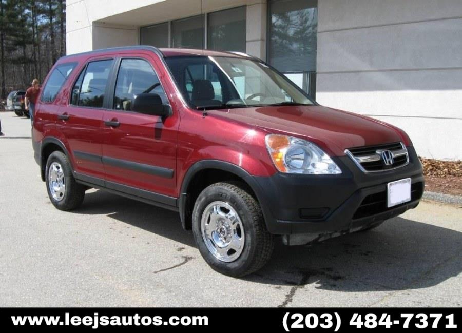 Used 2003 Honda CR-V in North Branford, Connecticut | LeeJ's Auto Sales & Service. North Branford, Connecticut