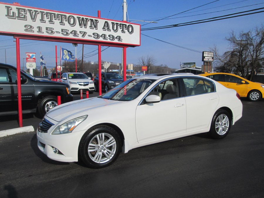 Used 2010 Infiniti G37 Sedan in Levittown, Pennsylvania | Levittown Auto. Levittown, Pennsylvania