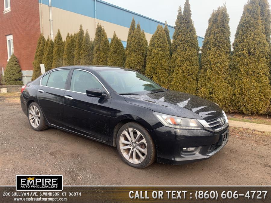 Used Honda Accord Sedan 4dr I4 CVT Sport 2014 | Empire Auto Wholesalers. S.Windsor, Connecticut