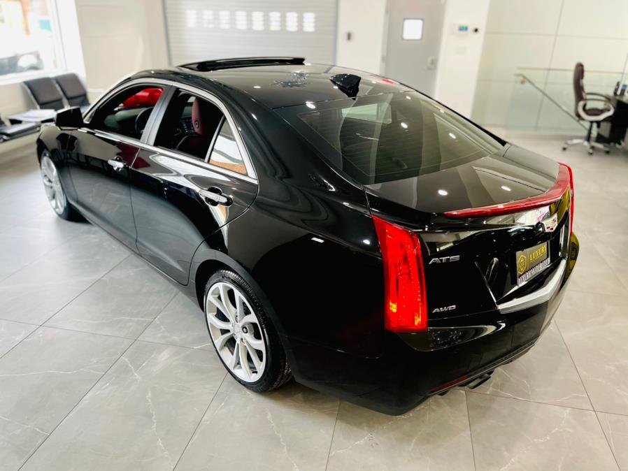Used Cadillac ATS Sedan 4dr Sdn 3.6L Premium Luxury AWD 2018   Luxury Motor Club. Franklin Square, New York