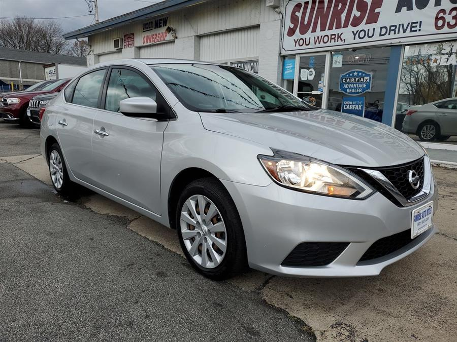 2016 Nissan Sentra 4dr Sdn I4 CVT SV, available for sale in Amityville, NY
