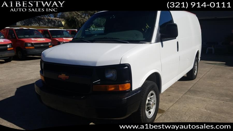 Used 2005 Chevrolet Express Cargo Van in Melbourne , Florida | A1 Bestway Auto Sales Inc.. Melbourne , Florida
