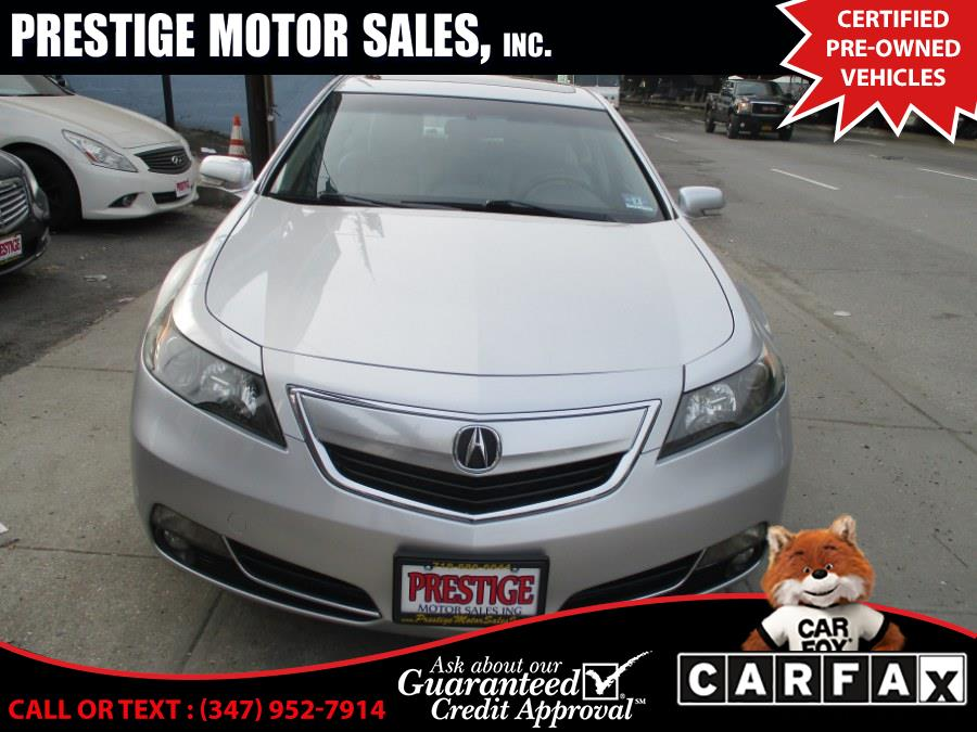 Used Acura TL 4dr Sdn Auto SH-AWD Advance 2012 | Prestige Motor Sales Inc. Brooklyn, New York
