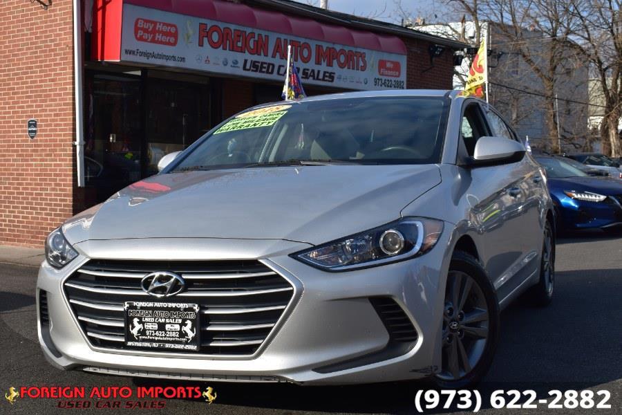 Used 2018 Hyundai Elantra in Irvington, New Jersey   Foreign Auto Imports. Irvington, New Jersey